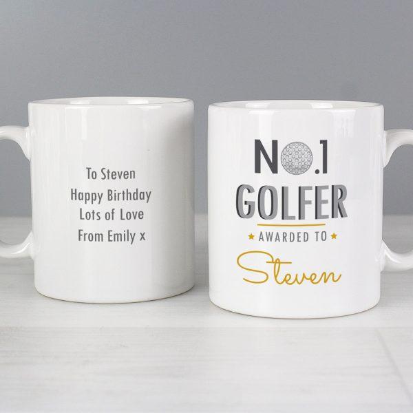 No.1 Golfer Mug