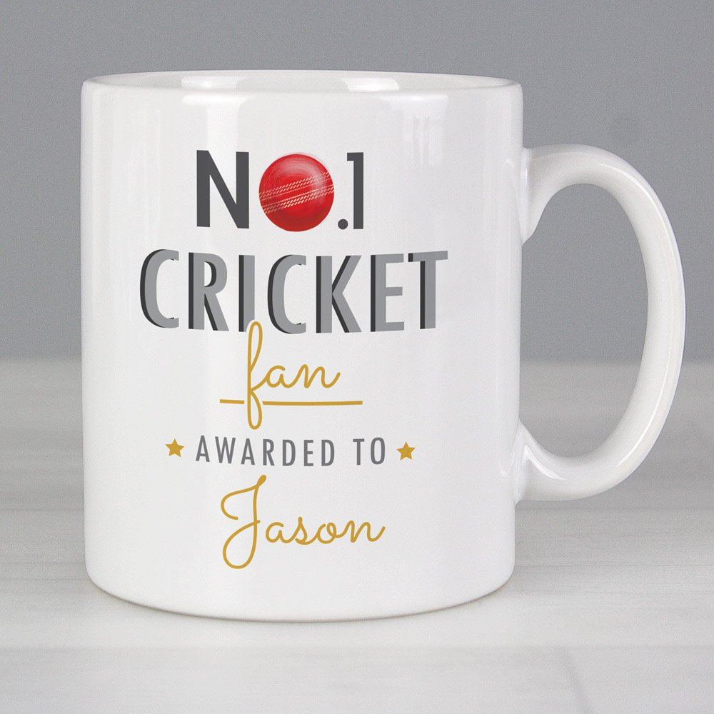 No.1 Cricket Fan Mug
