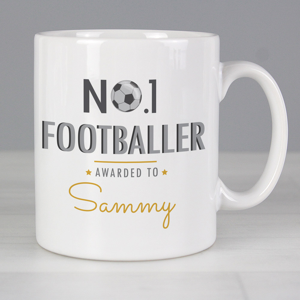 No.1 Footballer Mug