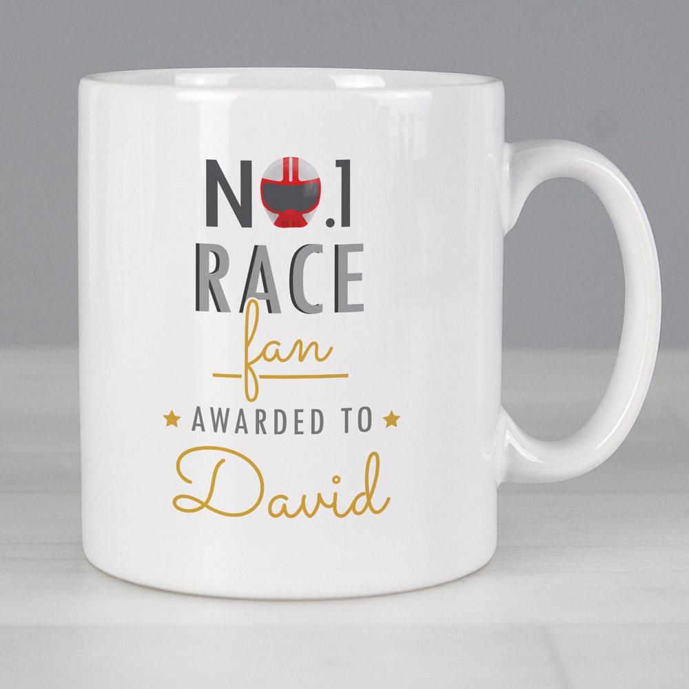 No.1 Race Fan Mug