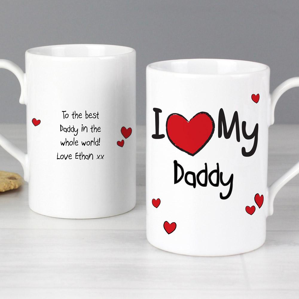 I Heart My...' Slim Mug
