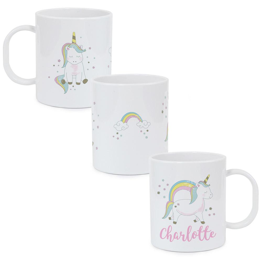 Baby Unicorn Plastic Mug