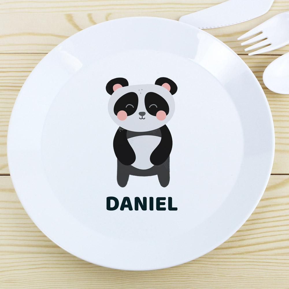 Panda Plastic Plate