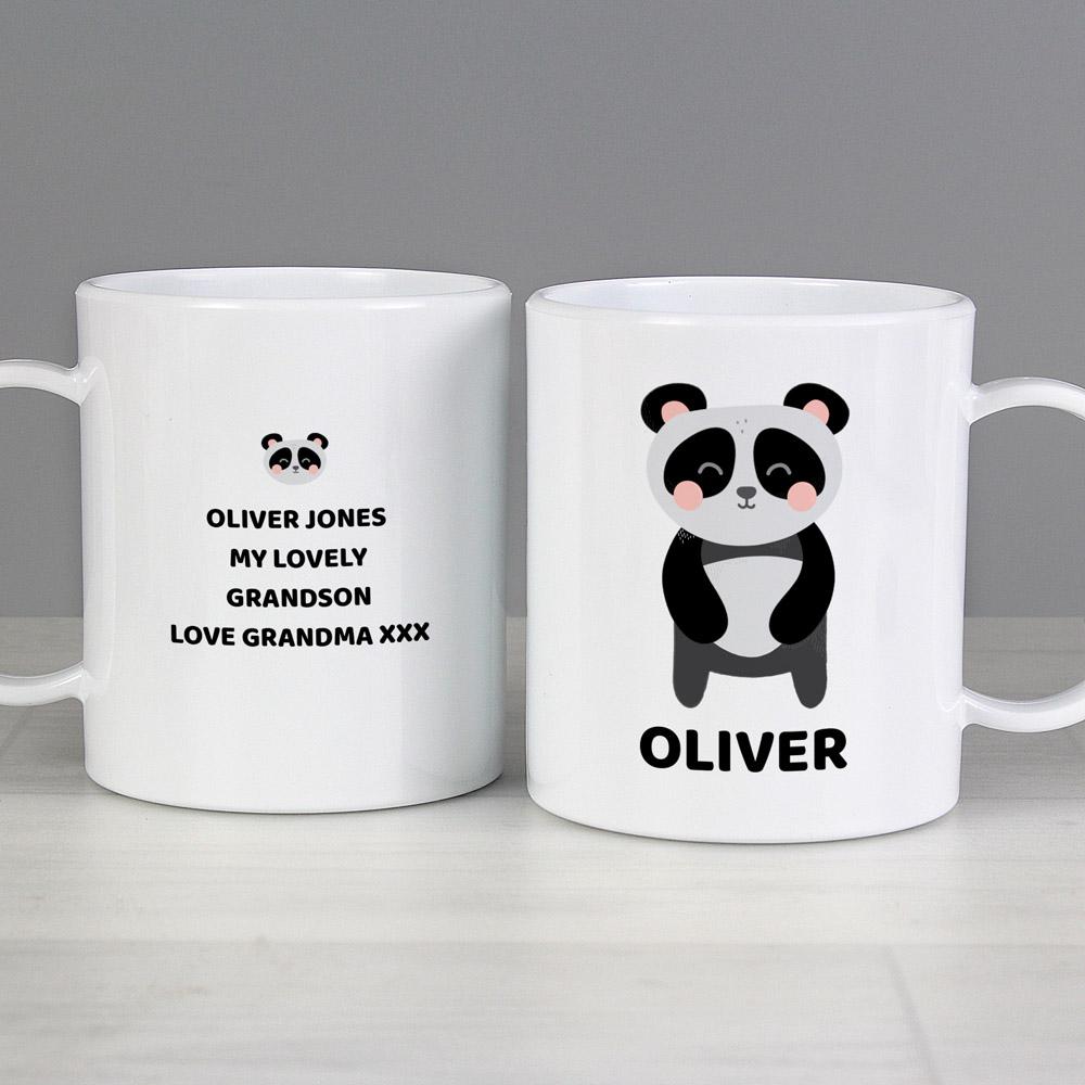 Panda Plastic Mug
