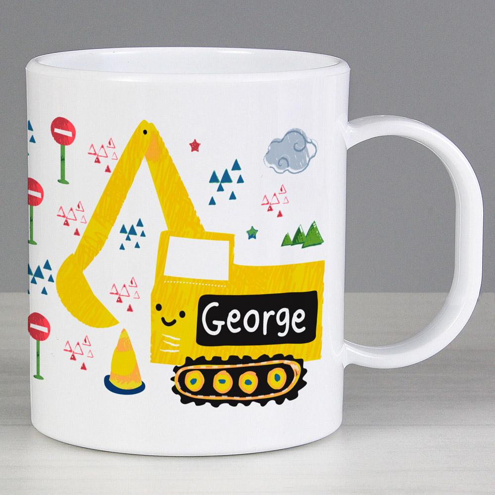 Digger Plastic Mug