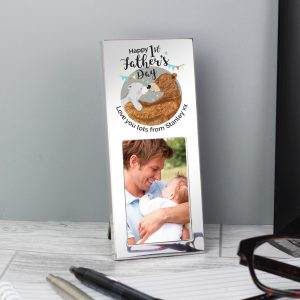 1st Father's Day Daddy Bear 2x3 frame