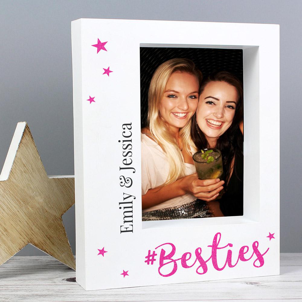 Besties 7x5 Box Photo Frame