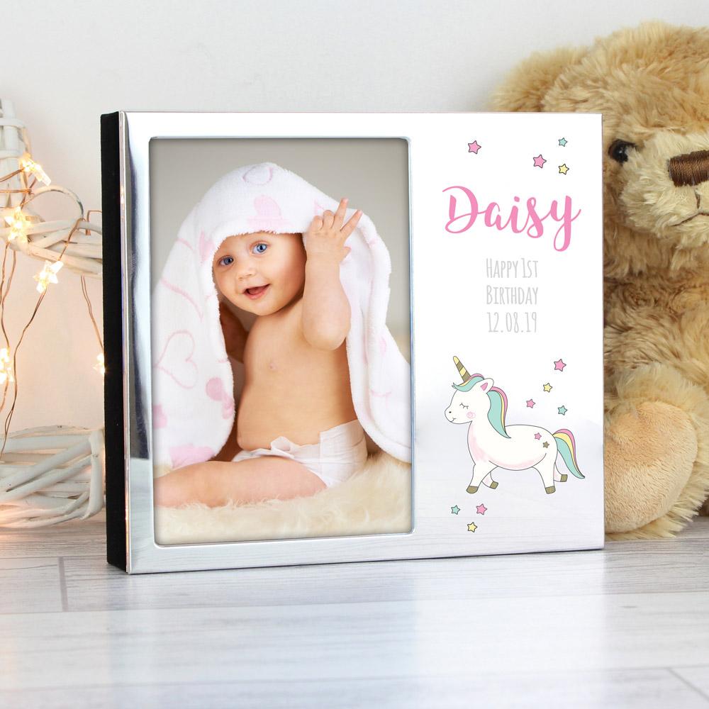 Baby Unicorn 6x4 Photo Frame Album