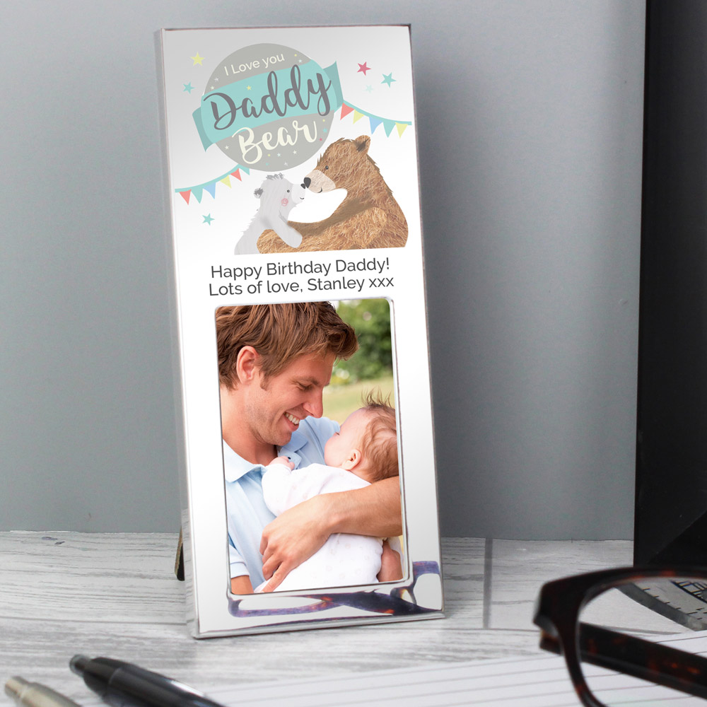 Daddy Bear 3x2 Photo Frame