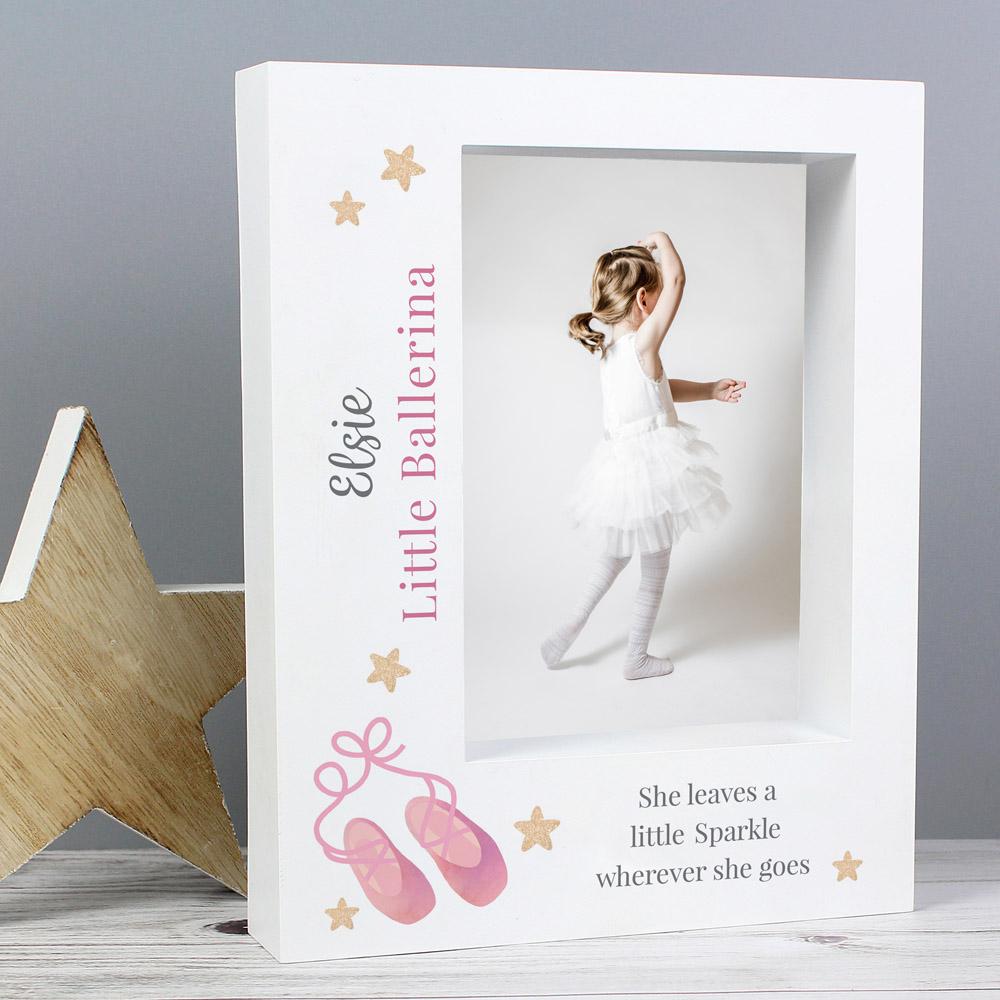 Swan Lake Ballet 7x5 Box Photo Frame