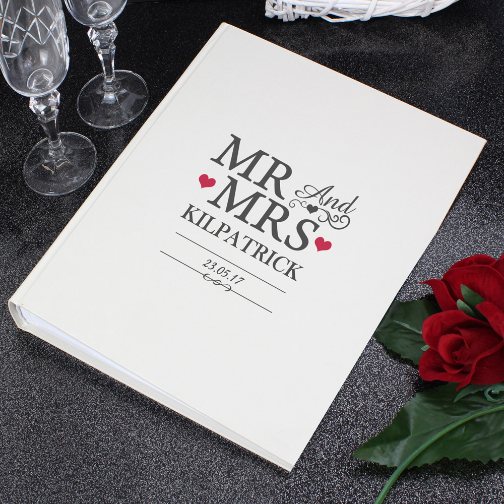 Mr And Mrs Album with Sleeves
