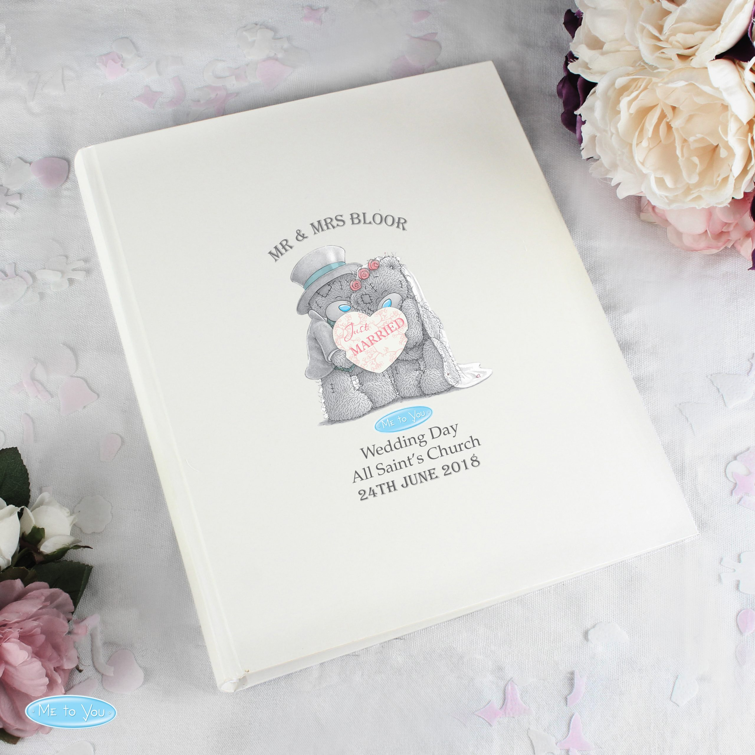 Me To You Wedding Album with Sleeves