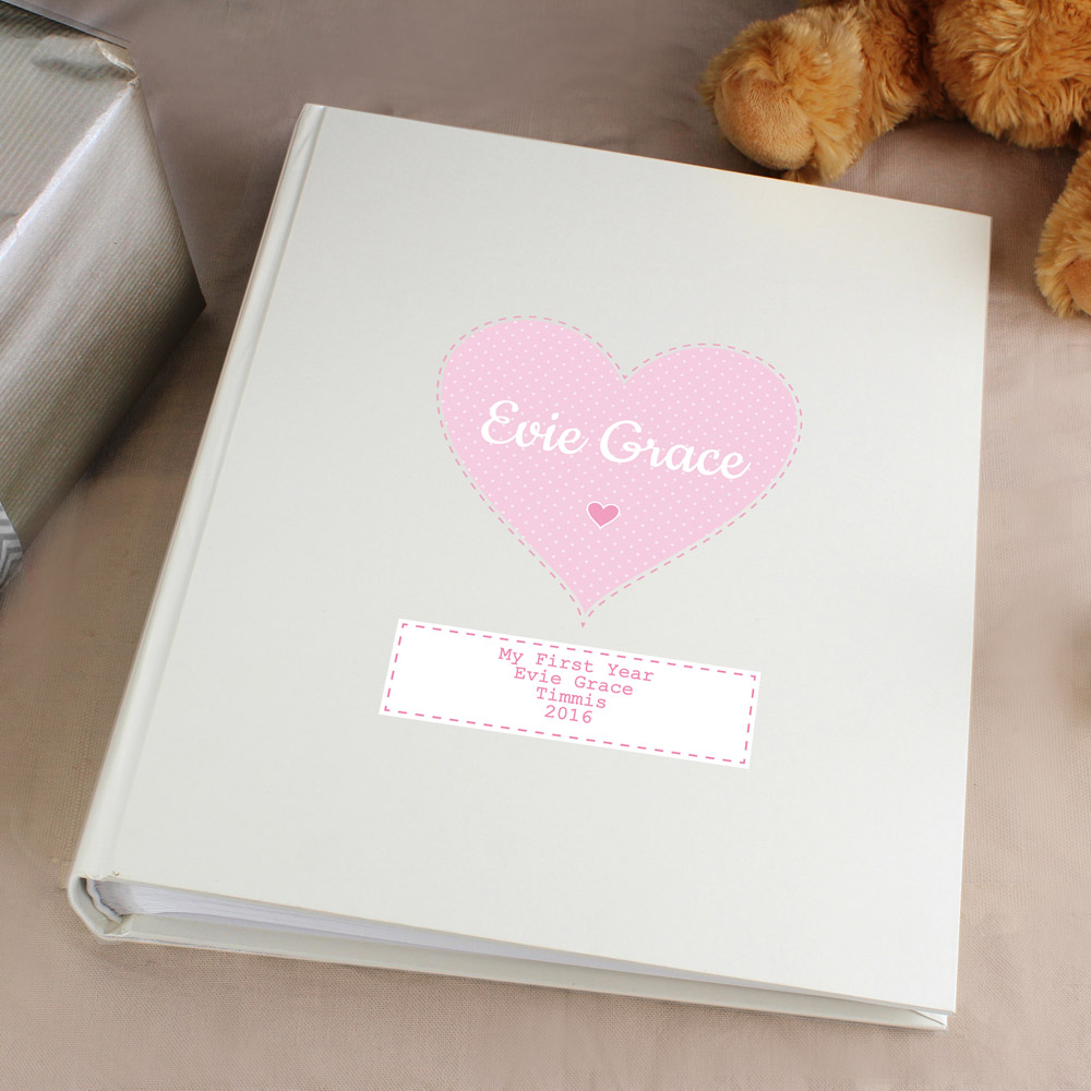 Stitch & Dot Baby Girl Album with Sleeves