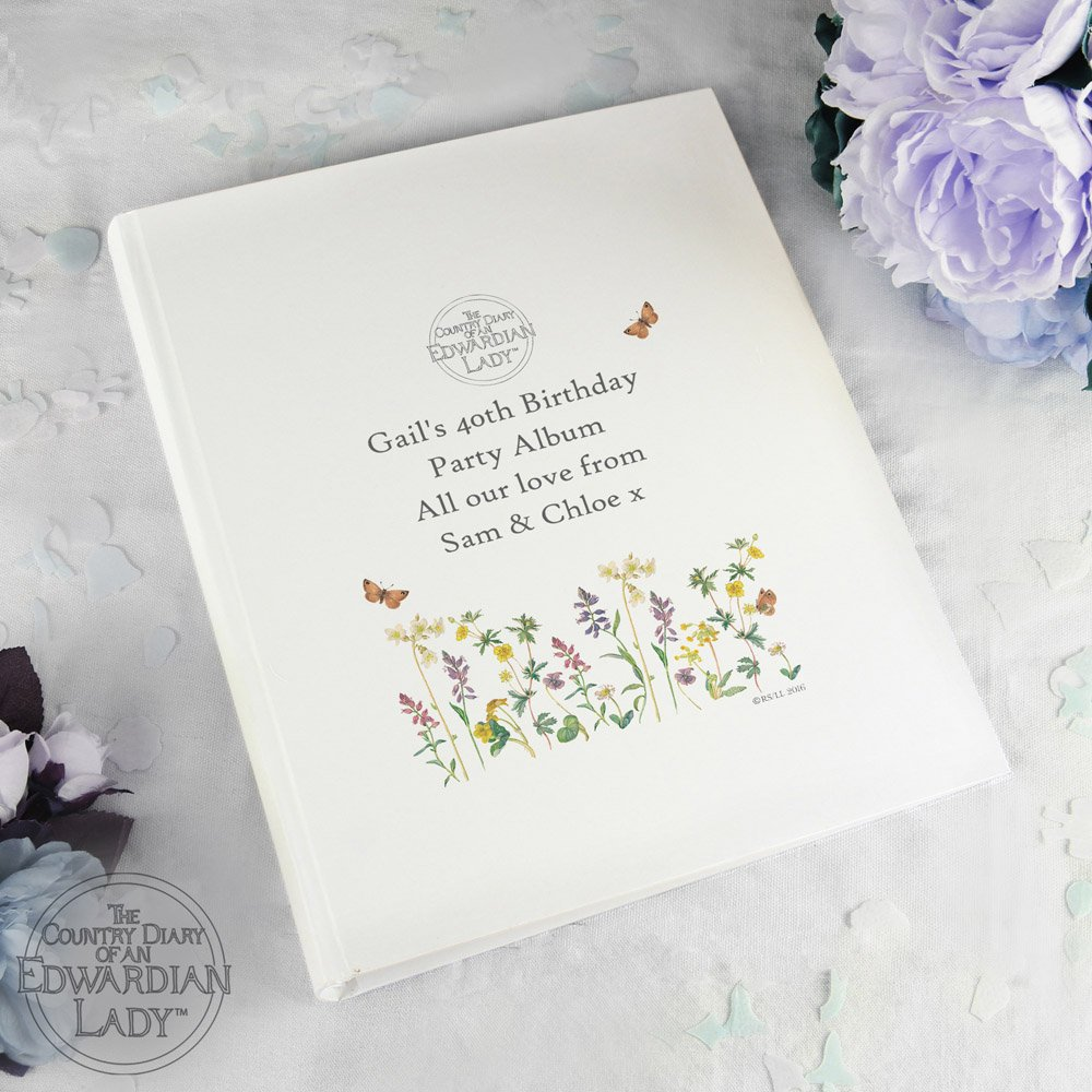 Country Diary Wild Flowers Album with Sleeves