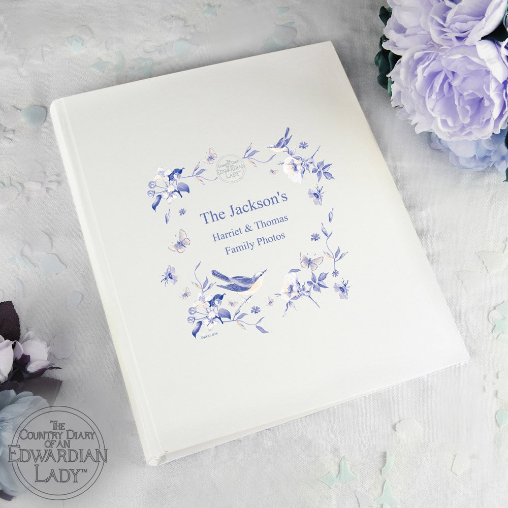 Country Diary Blue Blossom Album with Sleeves