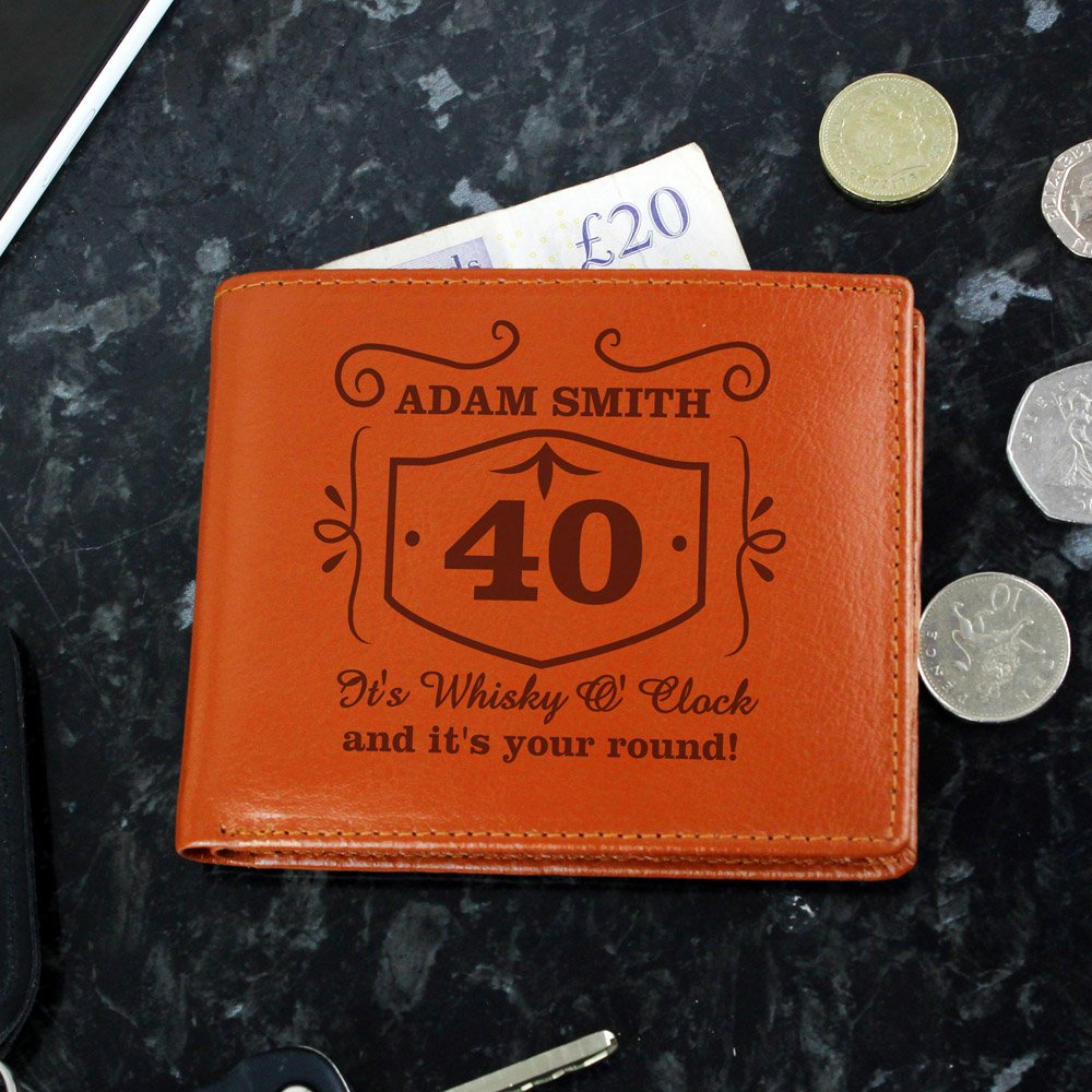 Classic Whisky Tan Leather Wallet