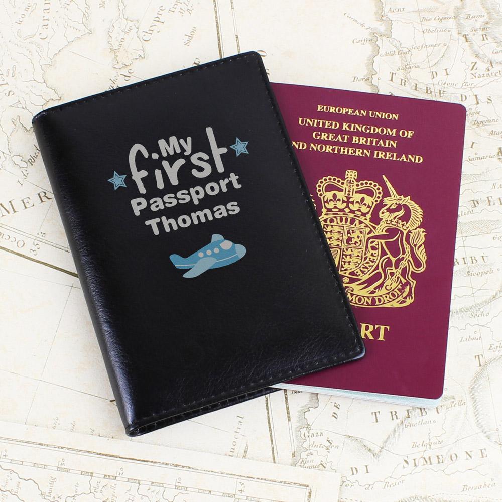 My First Black Passport Holder