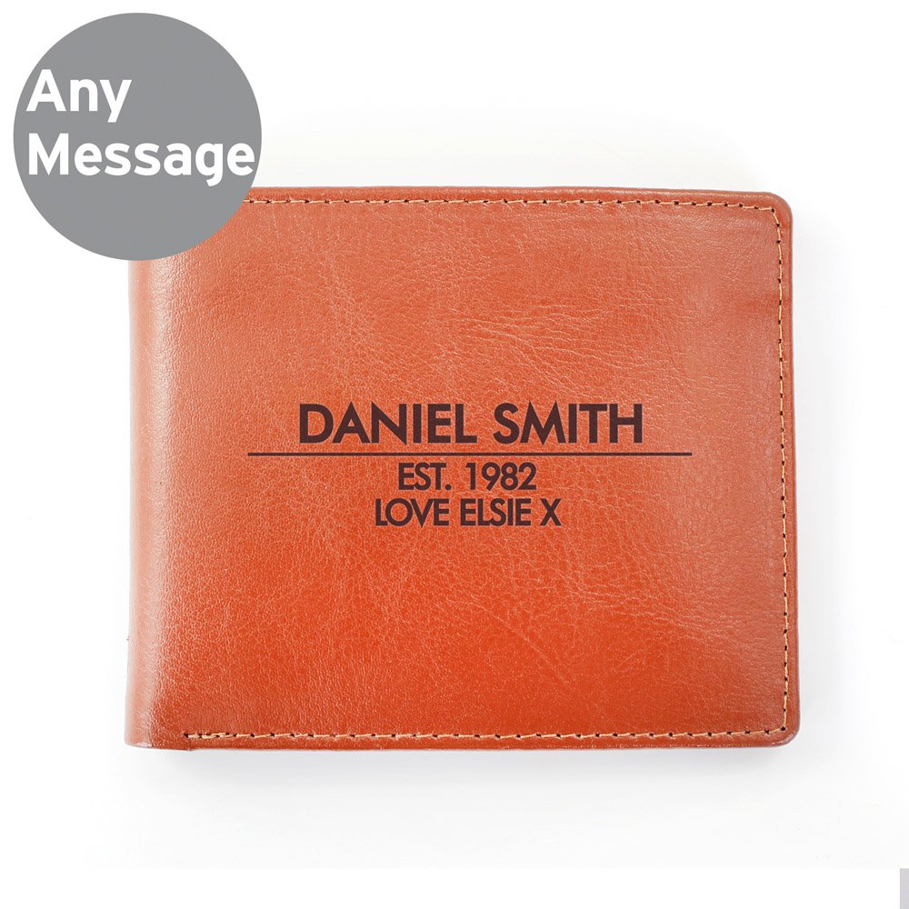 Classic Tan Leather Wallet