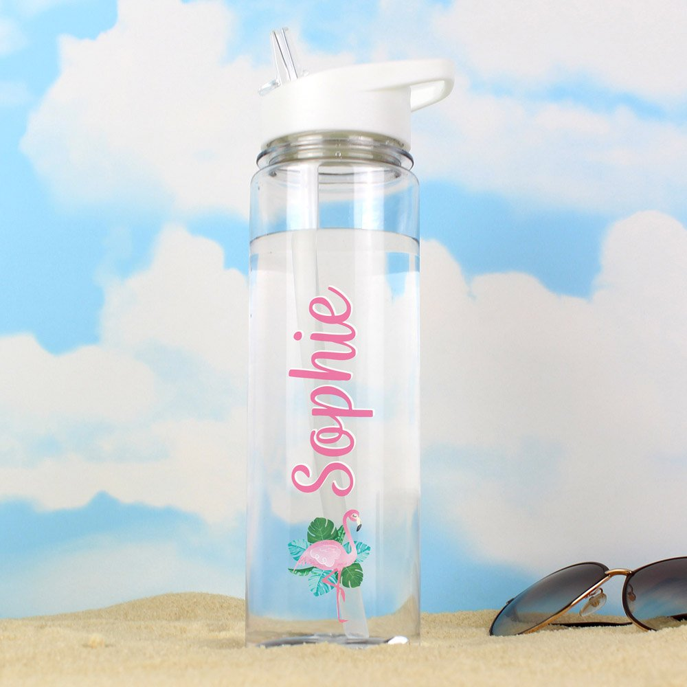 Flamingo Island Water Bottle