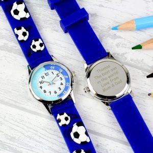 Kids Blue Time Teacher Watch with Presentation Box