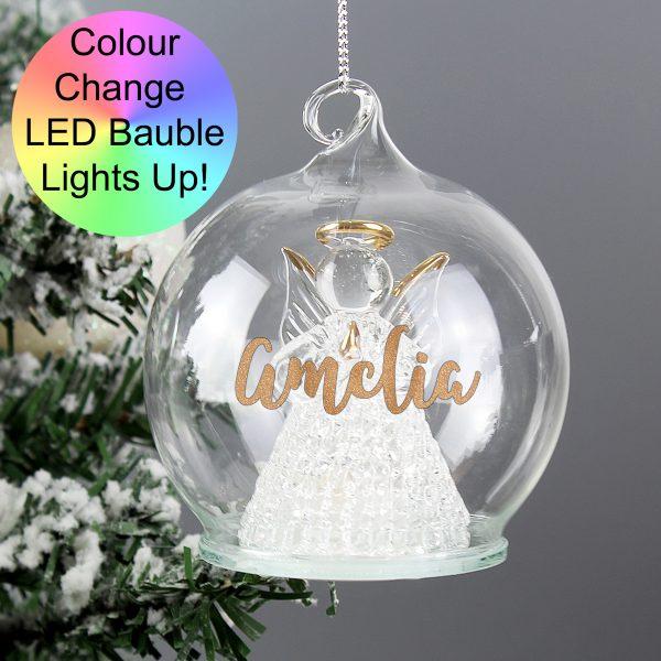 Christmas LED Angel Bauble