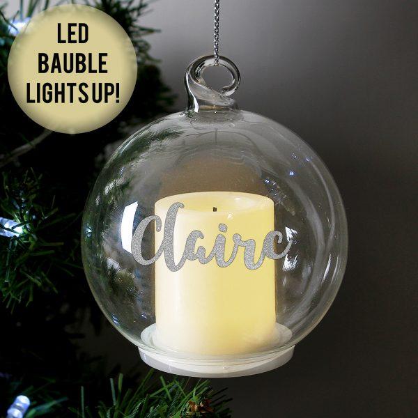 Christmas LED Candle Bauble