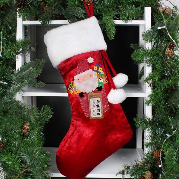 Santa Claus Luxury Stocking