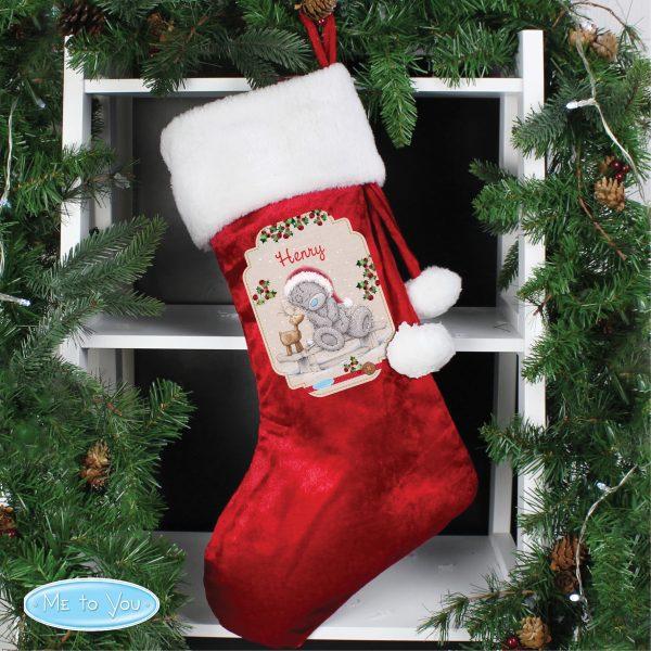 Me to You Reindeer Luxury Stocking
