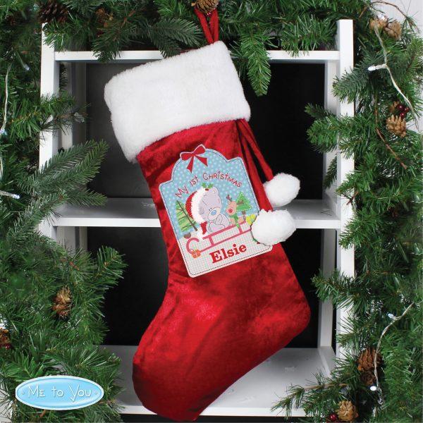 Tiny Tatty Teddy My 1st Christmas Luxury Stocking