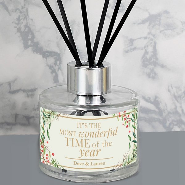 Wonderful Time of The Year' Christmas Reed Diffuser