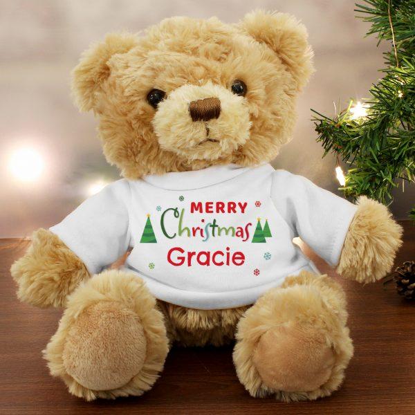 Merry Christmas Teddy Bear