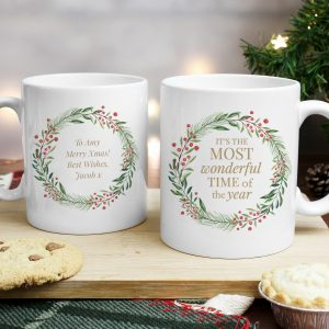 Wonderful Time of The Year' Christmas Mug