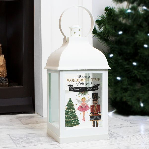 Nutcracker White Lantern