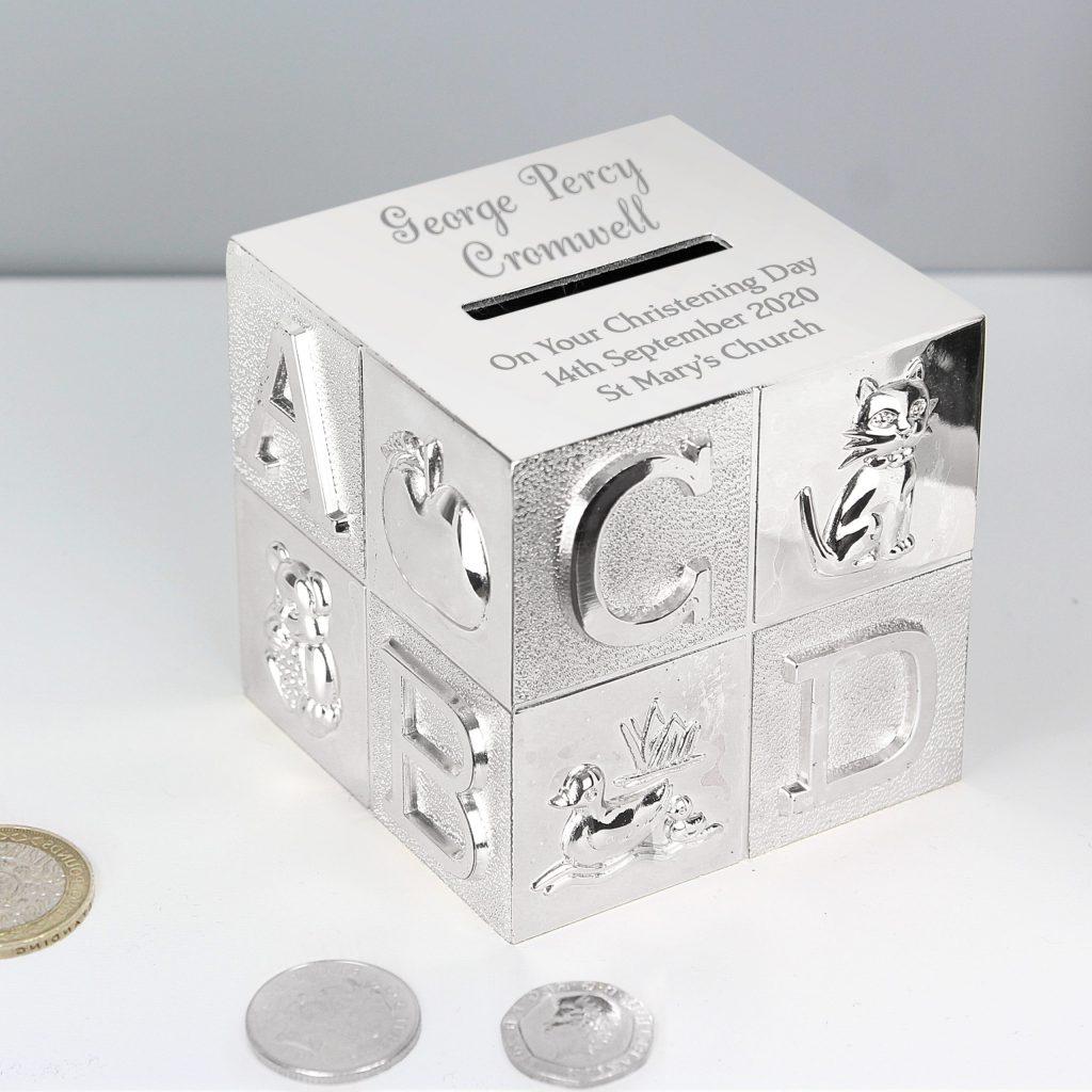 Personalised Big Name ABC Moneybox