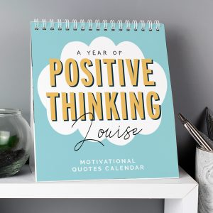 Personalised Motivational Quotes Desk Calendar