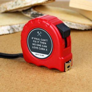 Personalised Tools Tape Measure