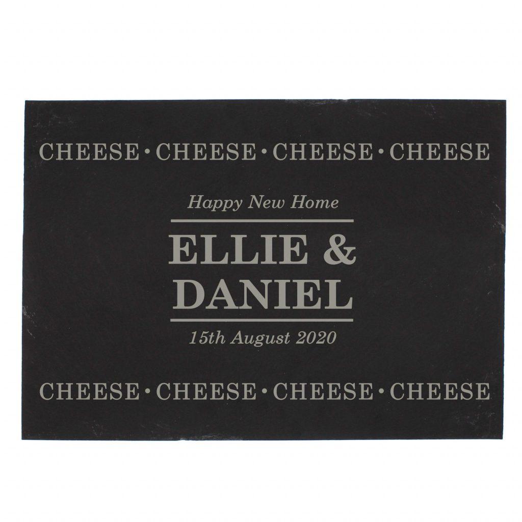 Personalised Cheese Cheese Cheese Slate Cheese Board