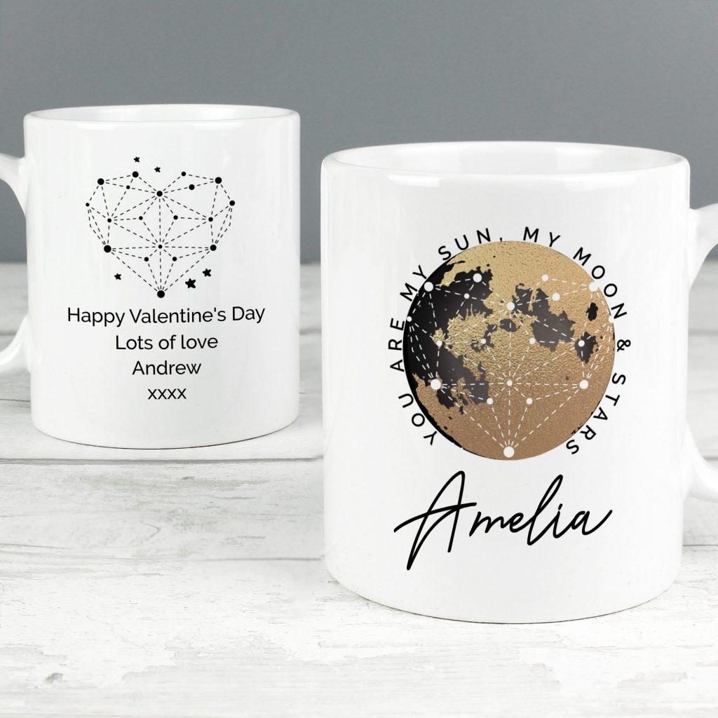 Personalised You Are My Sun My Moon Mug