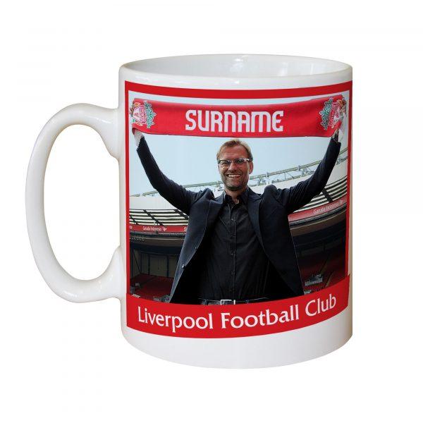 Liverpool FC Manager Mug