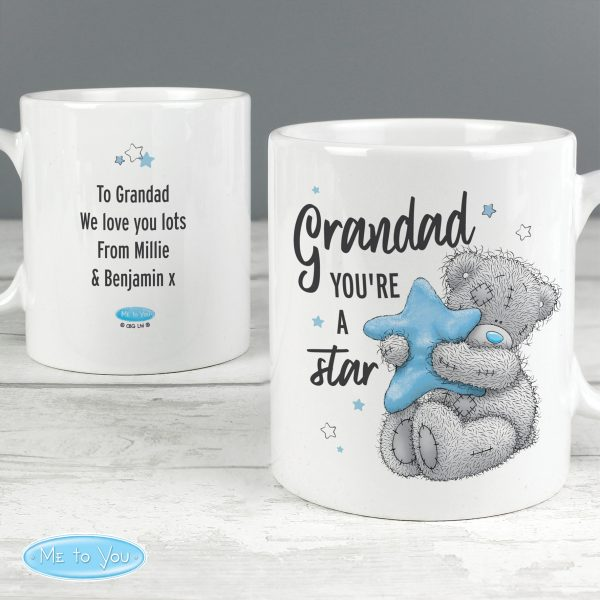 Personalised Me To You Grandad Youre A Star Mug