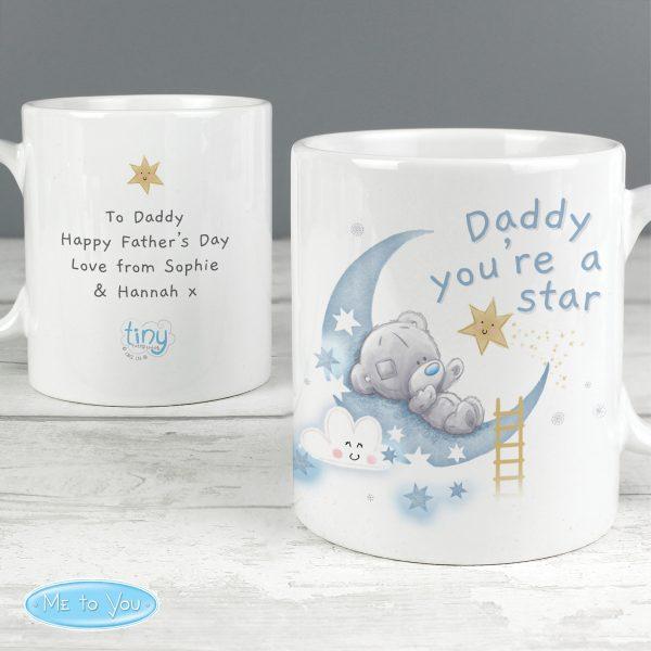Personalised Tiny Tatty Teddy Daddy Youre A Star Mug