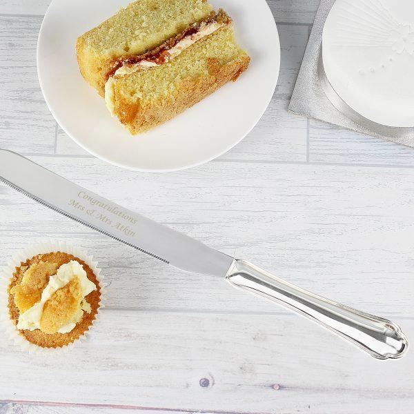Heart Cake Knife