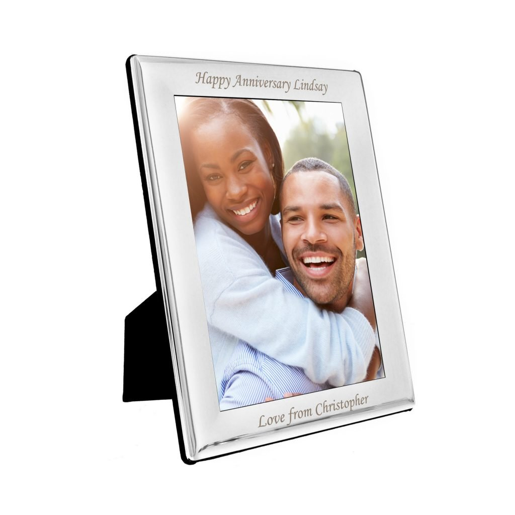Silver Plated 5x7 Photo Frame