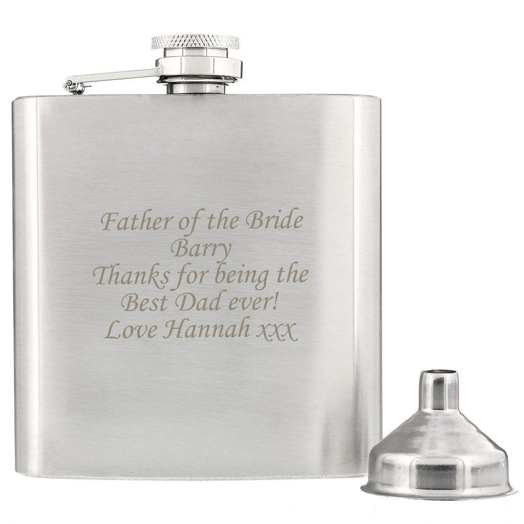 Boxed Stainless Steel Hip Flask