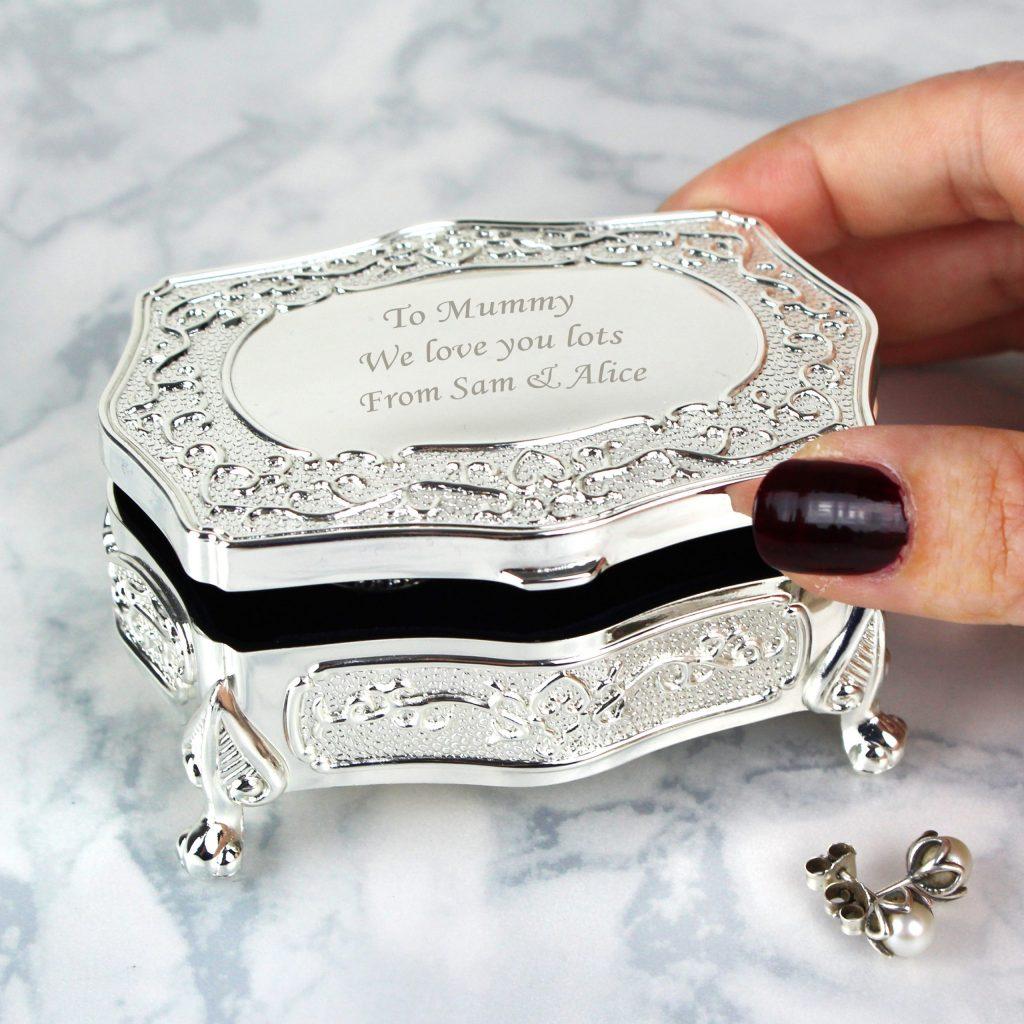 Small Antique Trinket Box