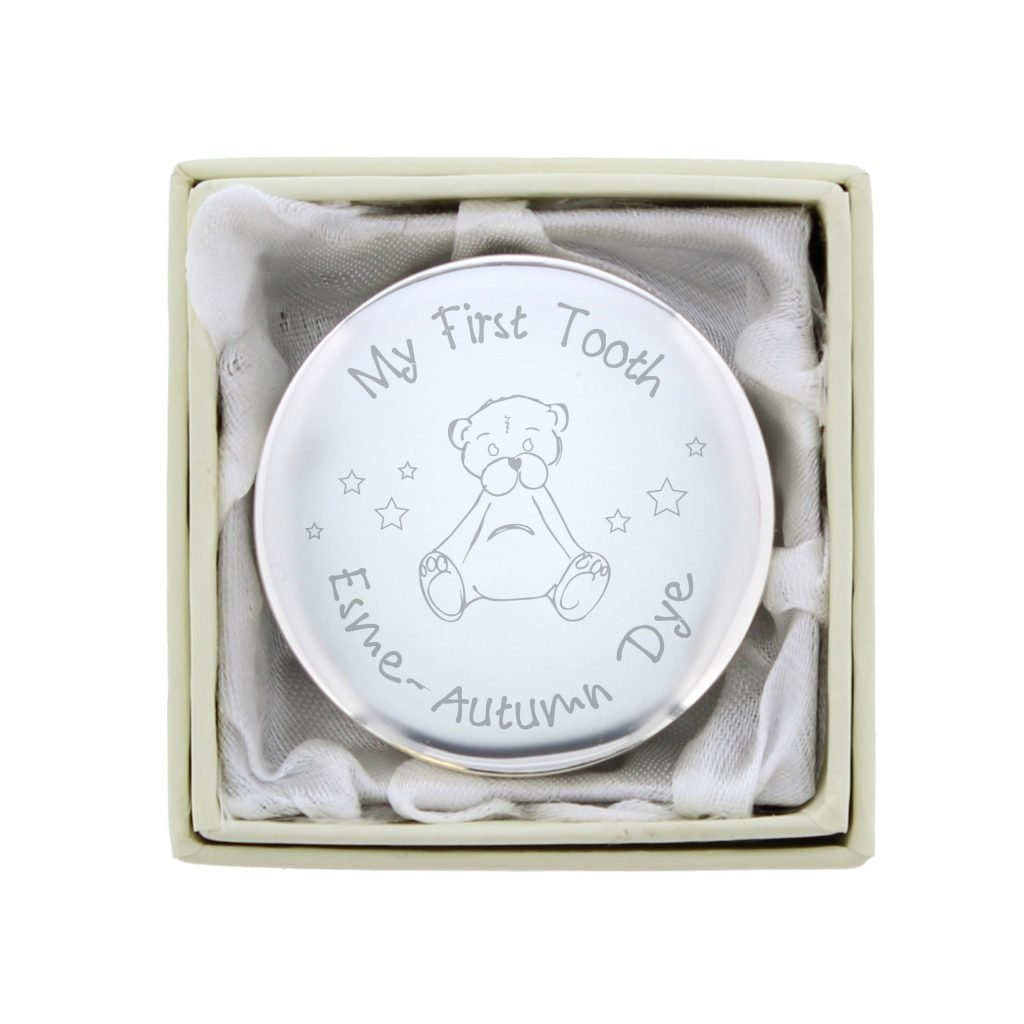 Teddy My First Tooth Trinket Box