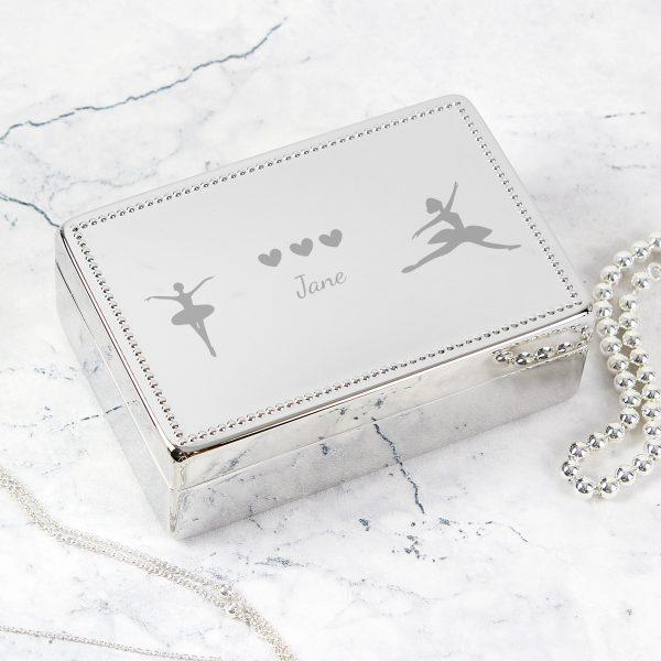 Ballerina Rectangular Jewellery Box