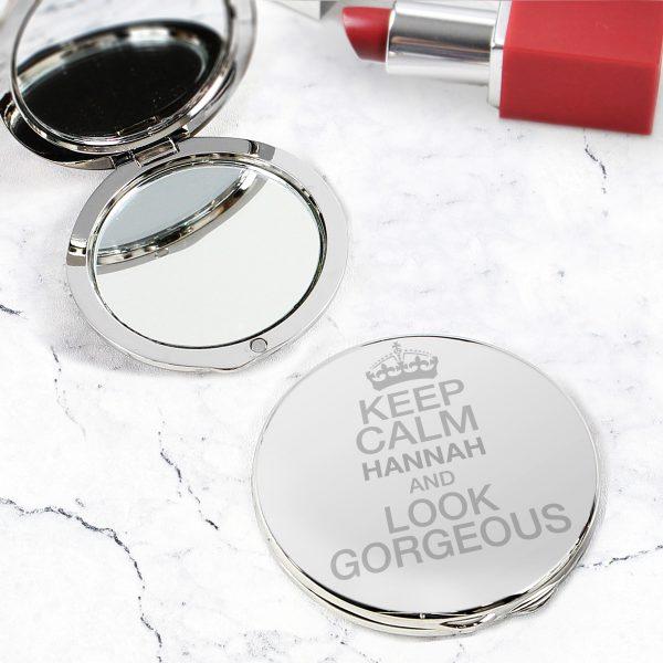 Keep Calm Compact Mirror