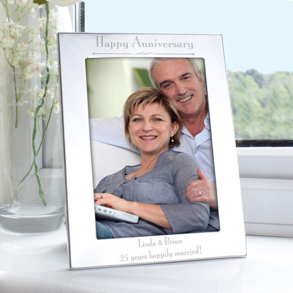 Silver 5x7 Decorative Photo Frame