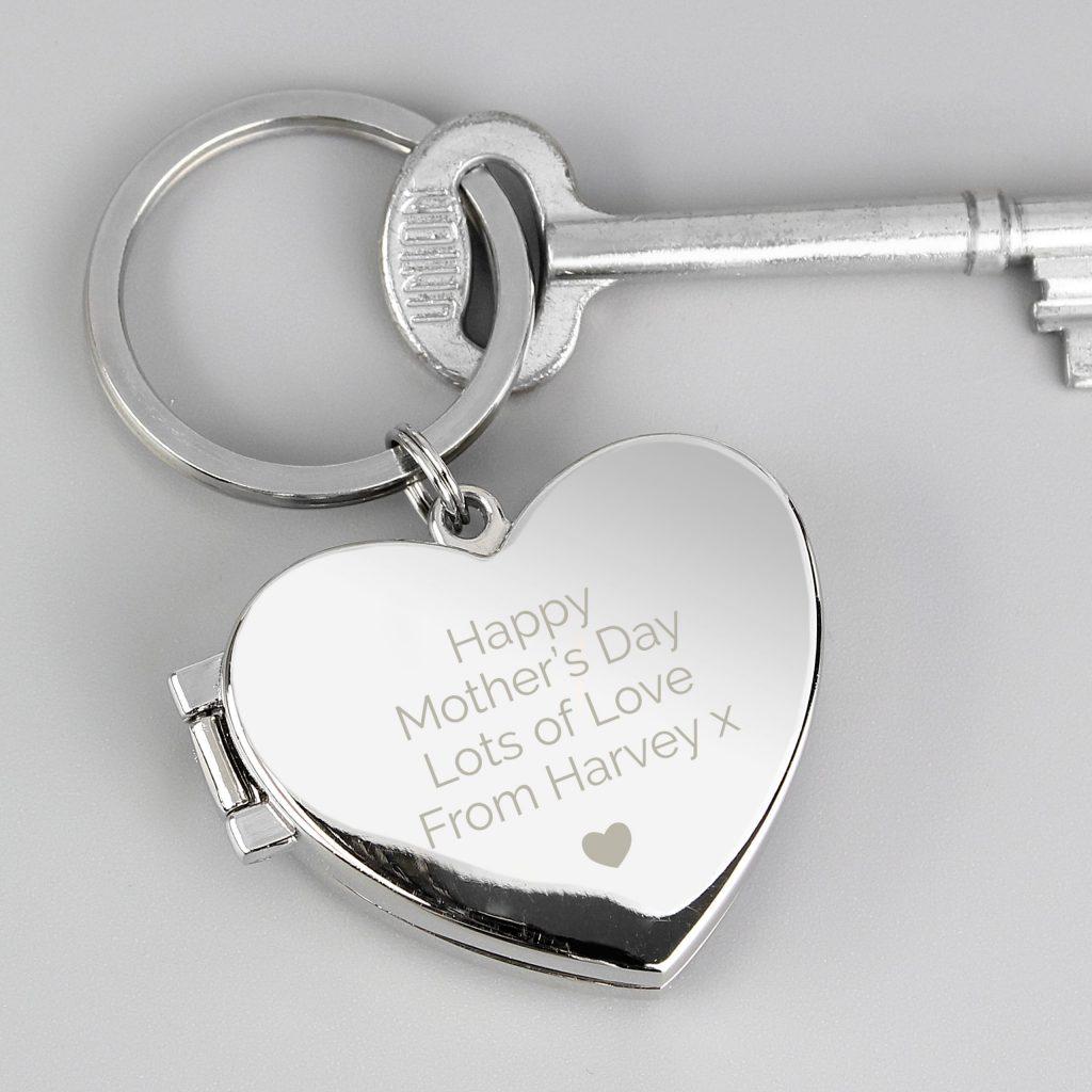 Heart Photoframe Keyring